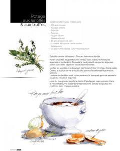 truffe-valensole-martino-arbefeuille potage lentilles